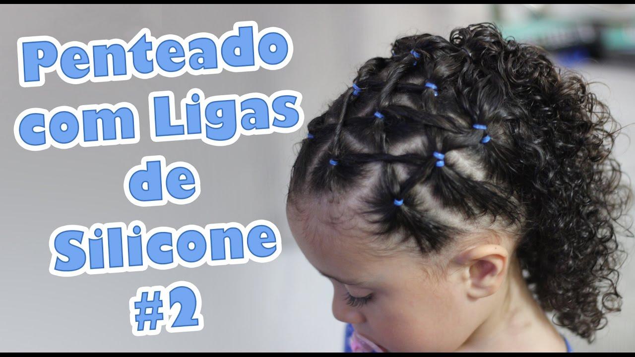 Penteado Infantil Fácil Com Ligas De Silicone 2 I Sr E Sra Martinez