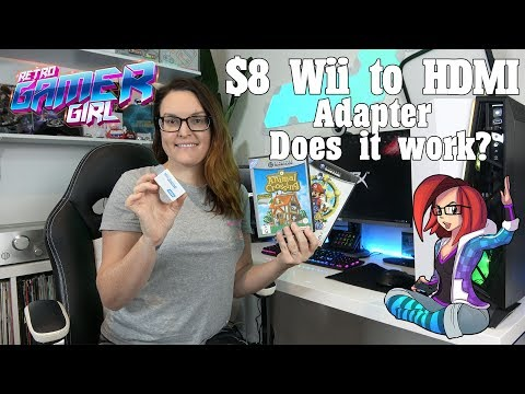 $8 Wii To HDMI Adapter For Streaming Wii & GameCube Games   Does It Work?