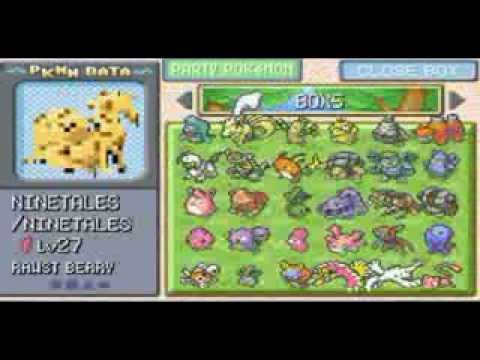 Pokemon fire red ultimate save file download youtube.