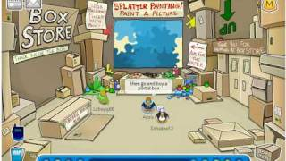 How To Get To The Box Dimension In Club Penguin