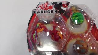 EPIC BAKUGAN BATTLE PLANET PYRUS MANTANOID STARTER PACK UNBOXING!!