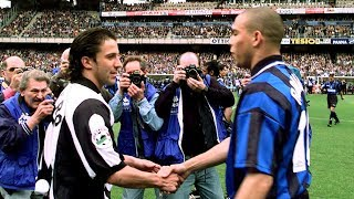 Ronaldo Fenomeno vs Del Piero ( Inter vs Juventus ) 1997/98  Serie A