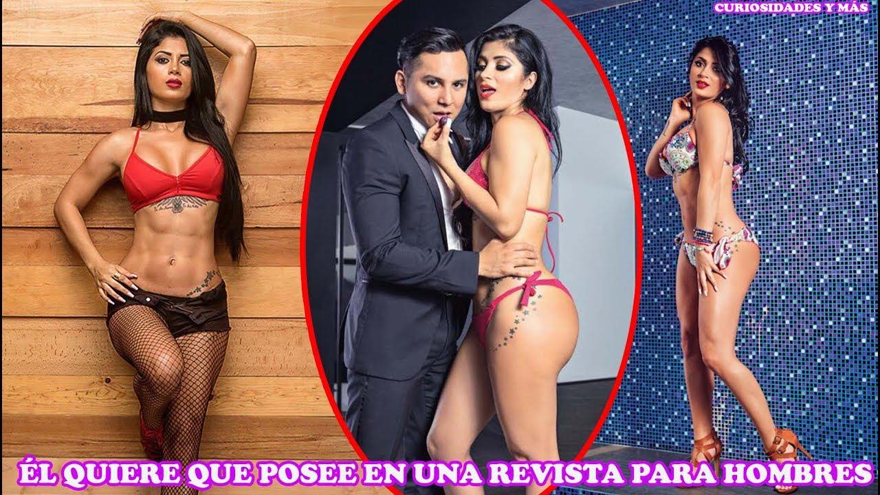 Alma Cero Imagenes Desnuda edwin luna le pide a su esposa kimberly que pose en revista