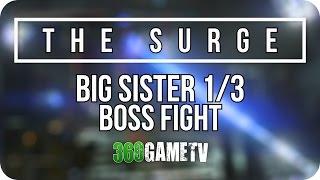 The Surge Boss #3 - Big Sister 1/3 - How to beat the third boss Big Sister 1/3 - Boss #3 Showcase