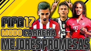 FIFA 17 | JOVENES PROMESAS GRAN POTENCIAL MODO CARRERA | CAREER MODE - POTENTIAL YOUNG PLAYERS