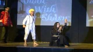 Punjabi model dara sidhu grup at sodi dj performed fansi