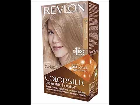 Revlon Colorsilk Haircolor, Medium Ash Blonde - YouTube