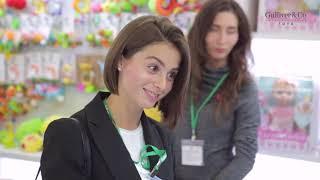 Компания Gulliver и новинки ассортимента на выставке Мир детства 2018 в ЦВК Экспоцентр