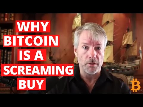 Why Bitcoin Is A Screaming Buy (Michael Saylor)