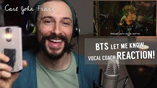 Download Video Vocal Coach REACTION! BTS, Let Me Know LIVE! MP3 3GP MP4
