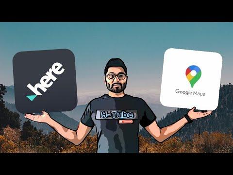 Best Navigation App - Google Maps Vs Here WeGo In Depth Comparison