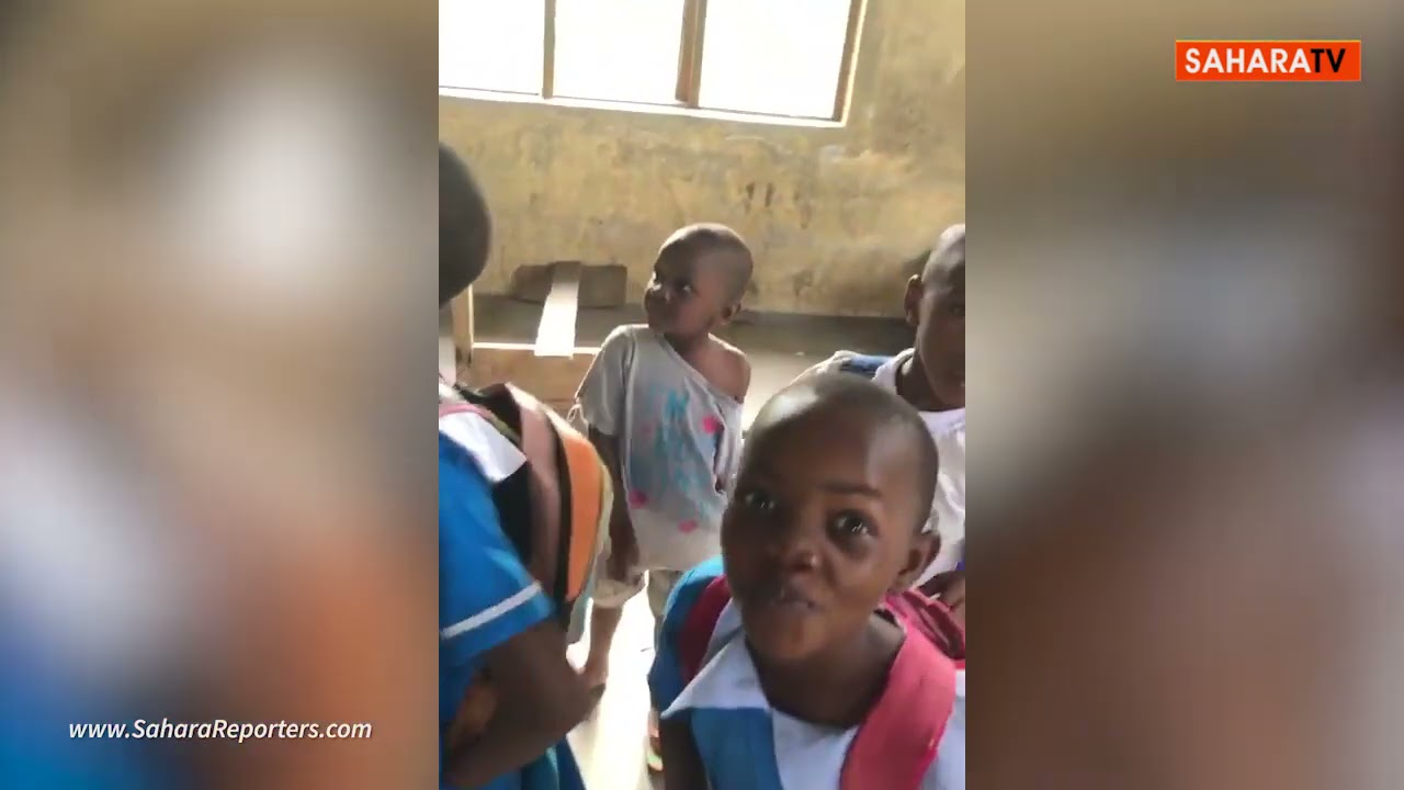 Inside Rivers Primary School With No Roof, Windows, And Where Pupils Learn With Faeces On The Floor