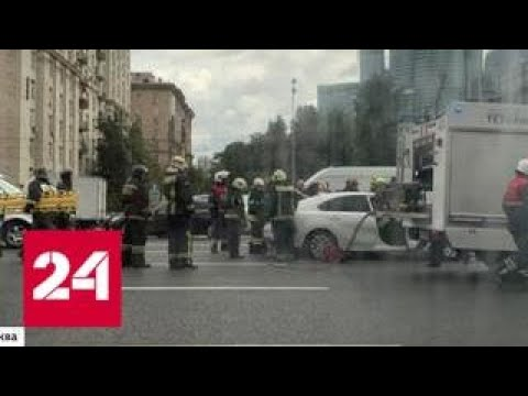 Два человека погибли, пятеро пострадали в ДТП на Кутузовском проспекте - Россия 24