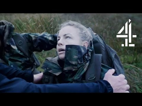 Brash Recruit FAINTS During Casualty Evacuation | SAS: Who Dares Wins