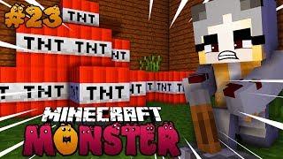WIR BRINGEN DIE MONSTER STADT ZUM EXPLODIEREN! ✿ Minecraft MONSTER #23 [Deutsch/HD]