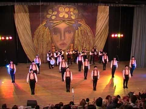 Todor Bekirski 45 years of folklore art choreography,gala concert Ensemble-Pirin Bulgaria part 1