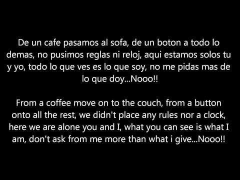 Luis Enrique Yo No Se Mañana I Don't know Tomorrow Letra/Lyrics (Translation)