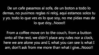 Luis Enrique Yo No Se Mañana I Don't know Tomorrow Letra/Lyrics (Translation)