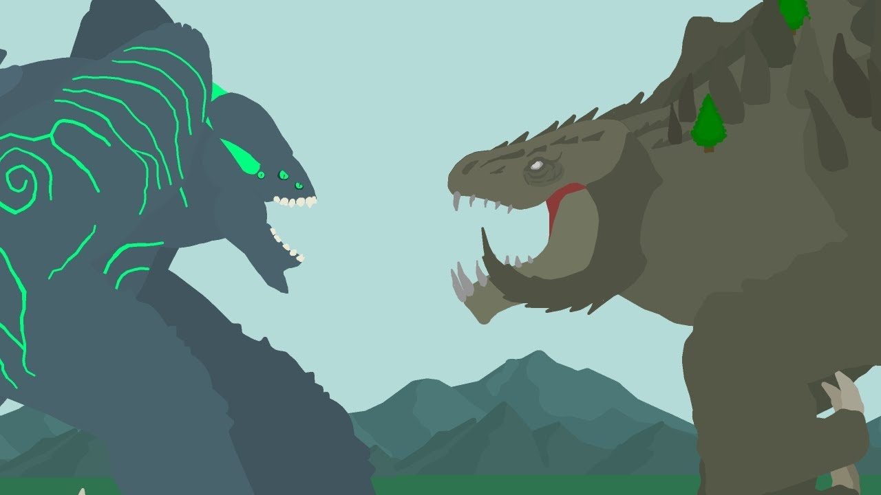 Leatherback vs Methuselah  |  BATTLE OF THE HEAVYWEIGHTS   |  MonsterVerse vs Pacific Rim