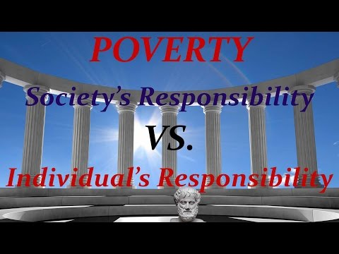 African American Poverty:  Society or individual to blame?