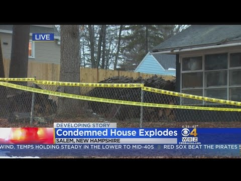 Crews To Search For Body After Salem, NH House Explosion