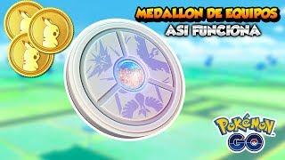 PRECIO, FECHA DE SALIDA... ASÍ FUNCIONA EL MEDALLÓN DE EQUIPOS EN Pokémon GO