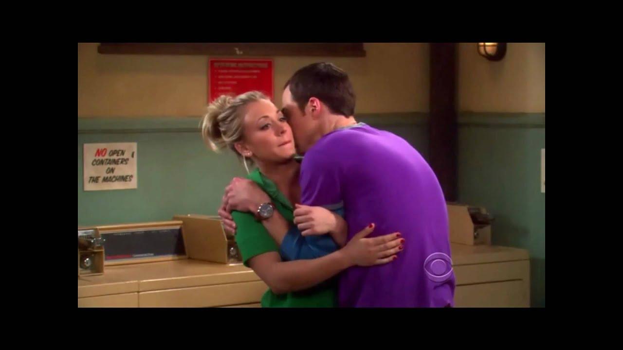 The Big Bang Theory Sheldon Hugs Penny - Youtube-2005