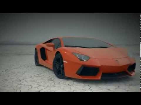 Quảng cáo cực chất siêu xe Lamborghini Aventador LP700-4 năm 2013