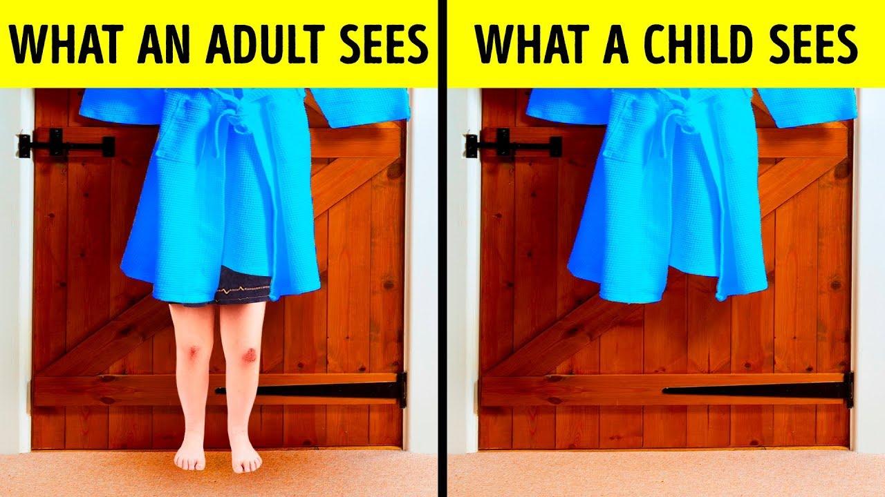 9 работи кои децата ги гледаат поинаку од возрасните