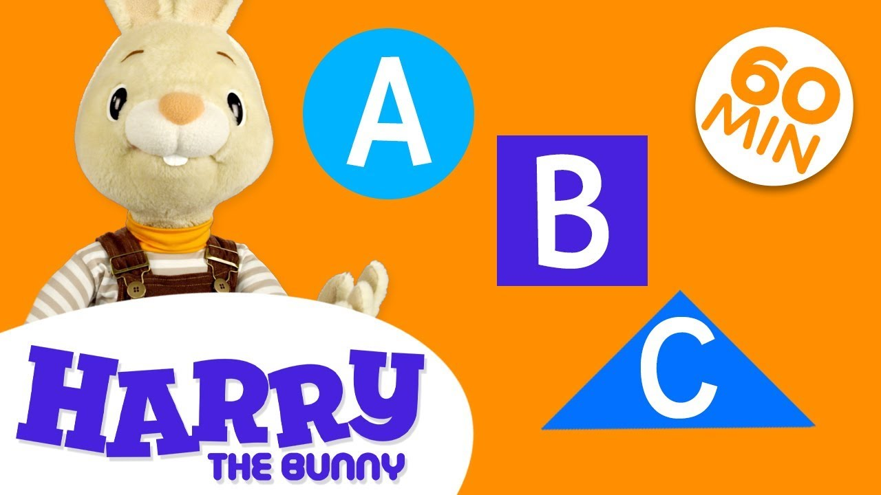 Learn New Words with Harry | Learn English Vocabulary for Kids Compilation  | Harry the Bunny