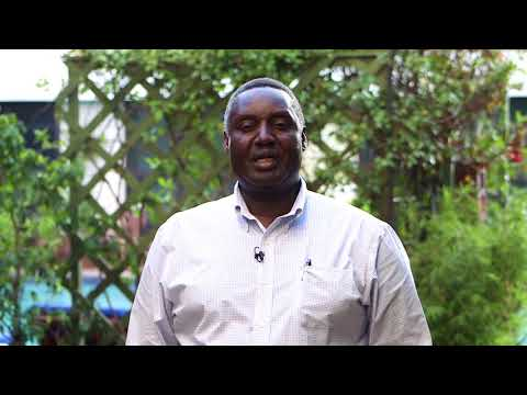 Moses Siambi, Research Program Director, ESA, ICRISAT
