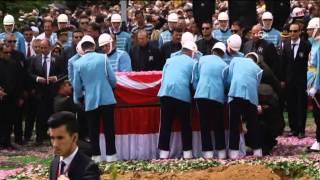 Demirel'in cenazesi defnedildi