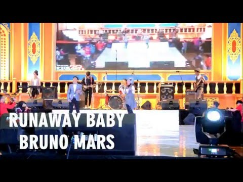 THE VIBE - Runaway Baby (Bruno Mars cover) live at Mteens 2016