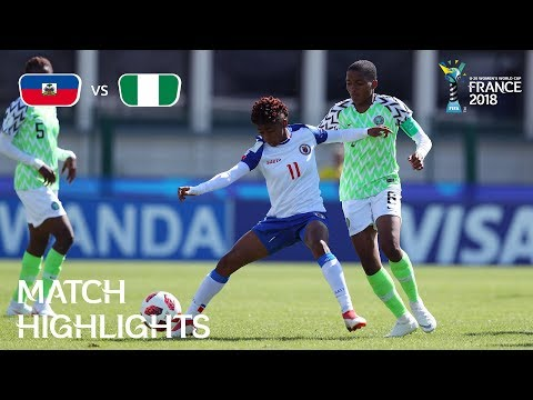 Haiti v. Nigeria - FIFA U-20 Women's World Cup France 2018 - Match 15