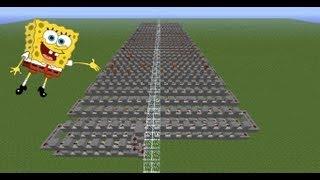 [Note Block #5] Музыка на тему Губка Боб - Minecraft
