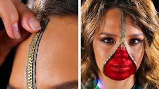 30 CREEPY MAKEUP IDEAS FOR BRAVE GIRLS
