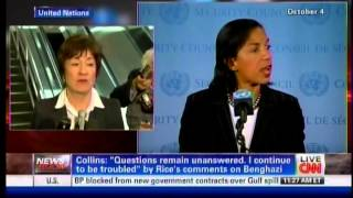 Senator Susan Collins Meets with Ambassador Susan Rice