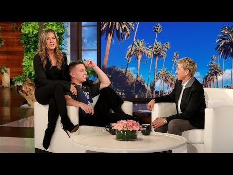 Charlie Puth Gets A Surprise From Jennifer Aniston