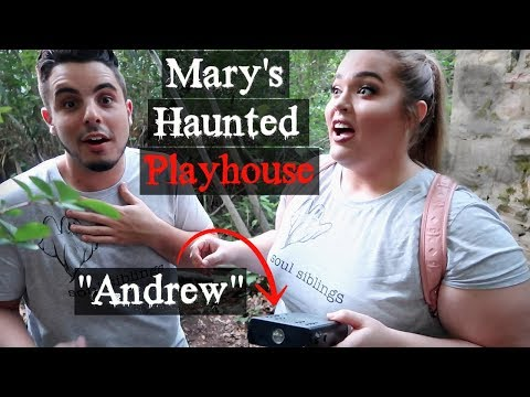 Spirit Box At Mary's HAUNTED Playhouse... The TRUTH About Mary's Grave *Part 2*