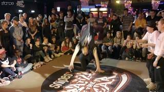 Yasmin & Miyo vs Pauline & Sunny (finals) ► .stance x Battle of the Year 2017 ◄ 2vs2 Bgirl Battle