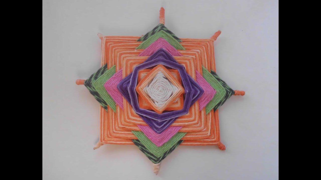 Adhesivo De Montaje Agorex ~ Passo a Passo de Artesanatos Mandalas em Fios YouTube