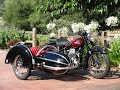 1950 Ariel Square 4 Start Up and Ride