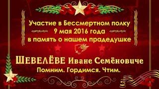 Бессмертный полк, Москва 9 мая 2016