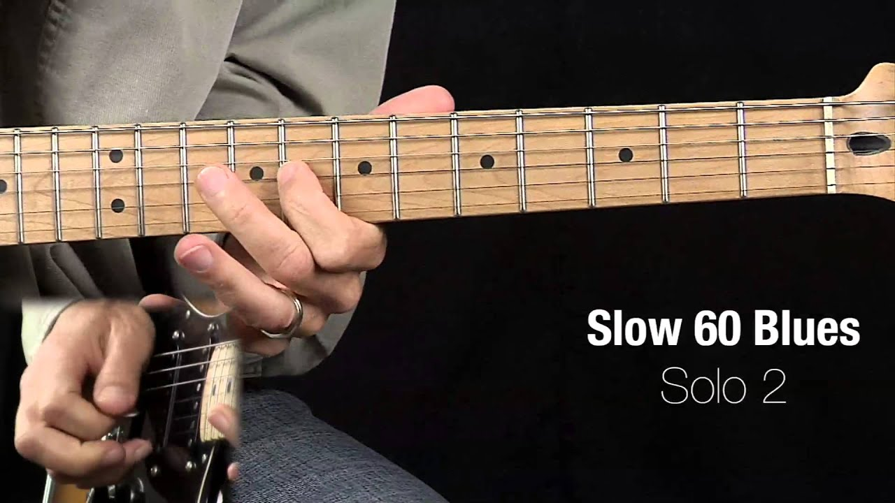 Slow 60 Blues   Master Guitar Academy
