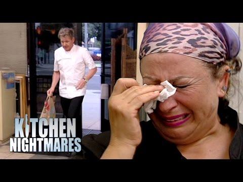 Gordon Ramsay's Hummus-Prank Ends in Tears | Kitchen Nightmare