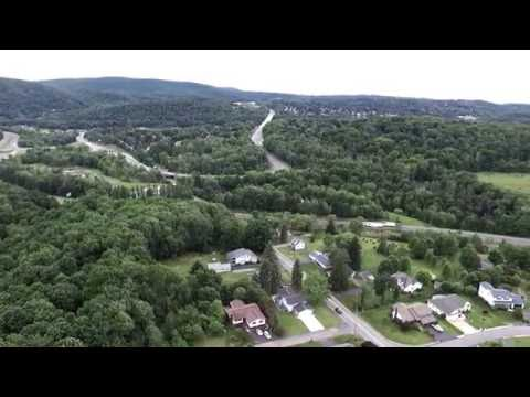North of Scranton, Pa  -  (Ariel View)