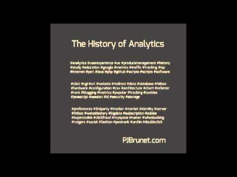 The History of Analytics (1999-Urchin)