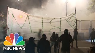 'Feds Go Home': Protests Continue In Portland | NBC News