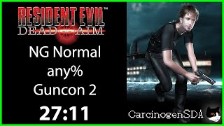 Resident Evil: Dead Aim (PS2) Speedrun - any% Normal w/ Guncon 2 - (27:11) [Commentated]