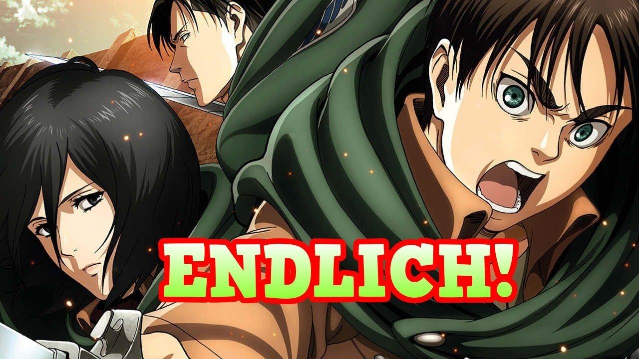 Attack On Titan Staffel 2 Deutsch